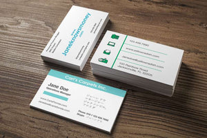 Business Cards - Straight Edge