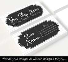 Load image into Gallery viewer, Business Cards - Straight Edge