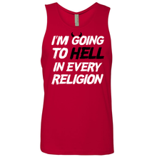 Load image into Gallery viewer, I'm Going To Hell In Every Religion - Shirt