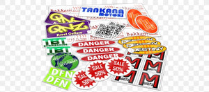 Your Own Design - Full Color Decals