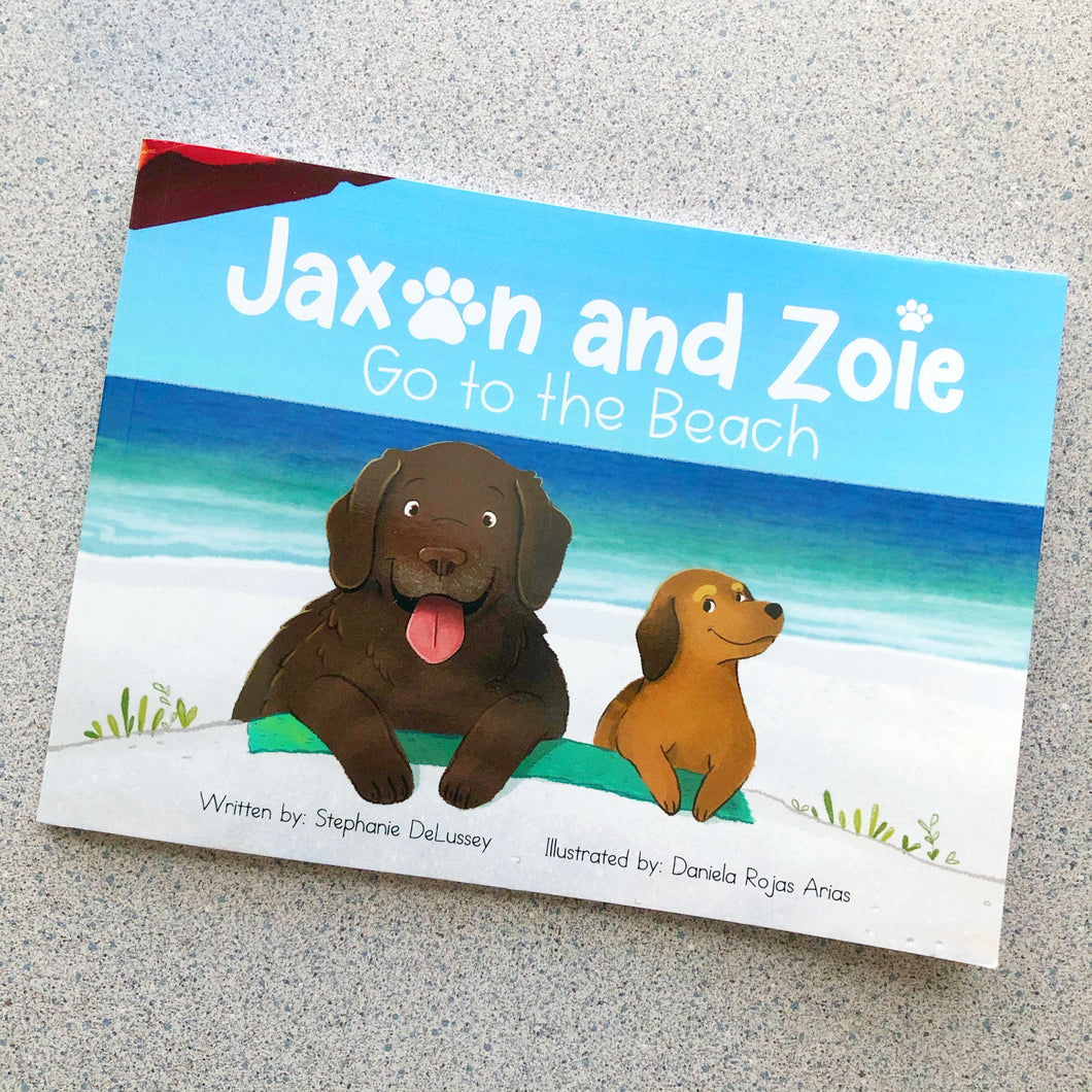 Jaxon and Zoie Go to the Beach