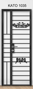 kato simplify laser cut metal gate 1035