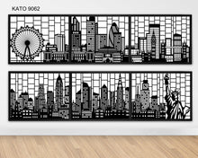 Load image into Gallery viewer, Customized laser cut kato window grille 9062