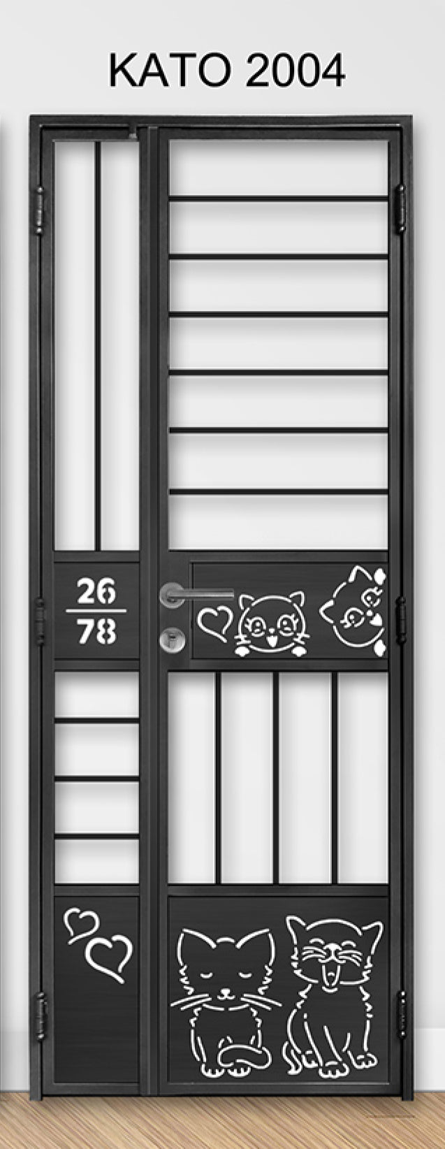 kato simplify laser cut metal gate 2004