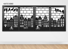 Load image into Gallery viewer, Customized laser cut kato window grille 9060