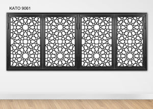 Customized laser cut kato window grille 9061