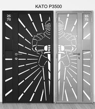 Load image into Gallery viewer, mild steel kato gate series P3500