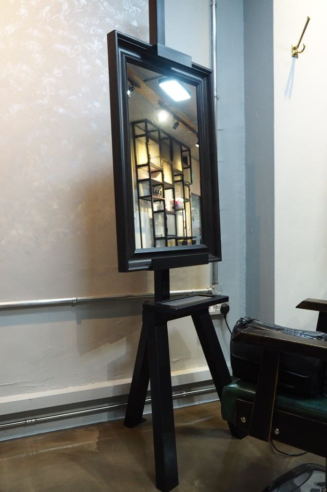 projects mild steel laser cut design mirror 27