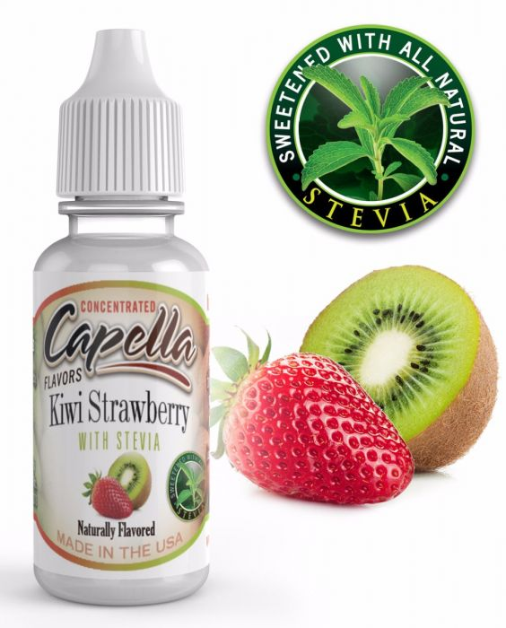 Kiwi Strawberry with Stevia 13ml