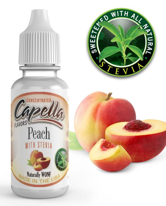 Peach with Stevia 13ml