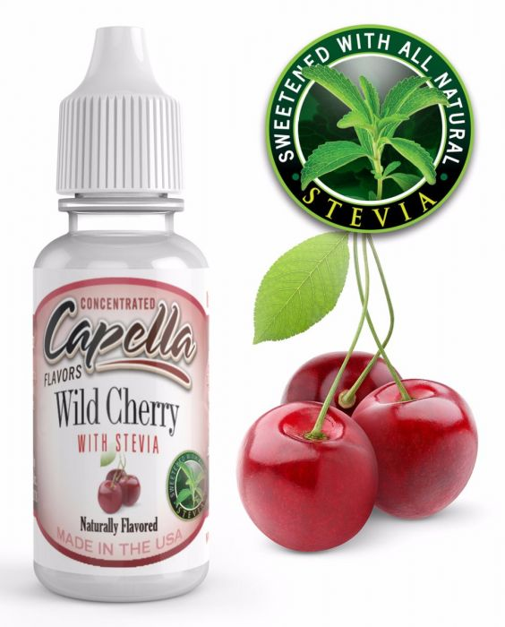 Wild Cherry with Stevia 13ml