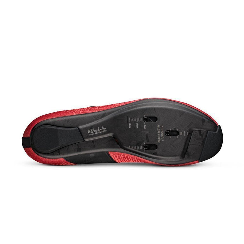 FIZIK Shoes R1 Vento Infinito Knit Carbon 2 - Coral/Black Default Fizik