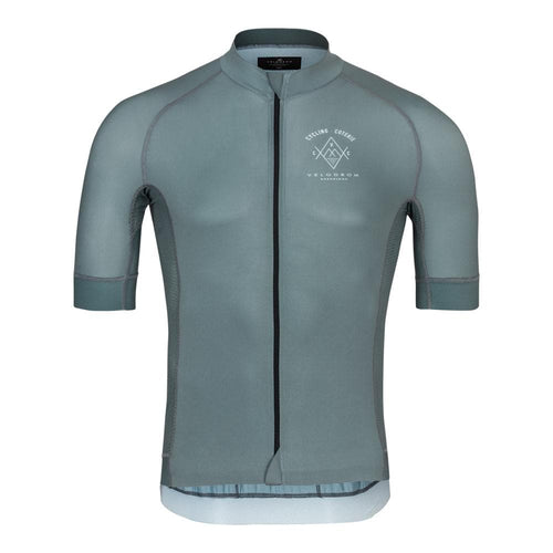 Maillot Velodrom Cycling Coterie Manga Corta Plata Gris Default Velodrom Barcelona