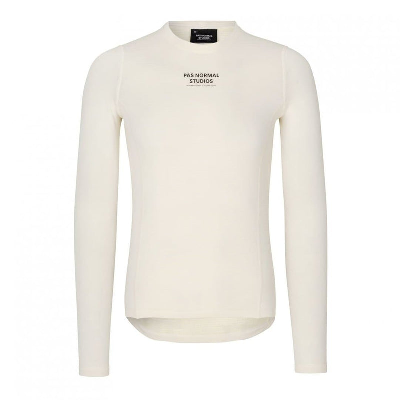PAS NORMAL STUDIOS Control Heavy Long Sleeve Baselayer - Off White Default pas normal studios