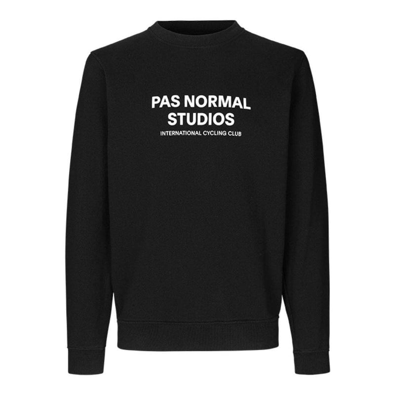 PAS NORMAL STUDIOS Logo Sweatshirt Black Default Velodrom Barcelona