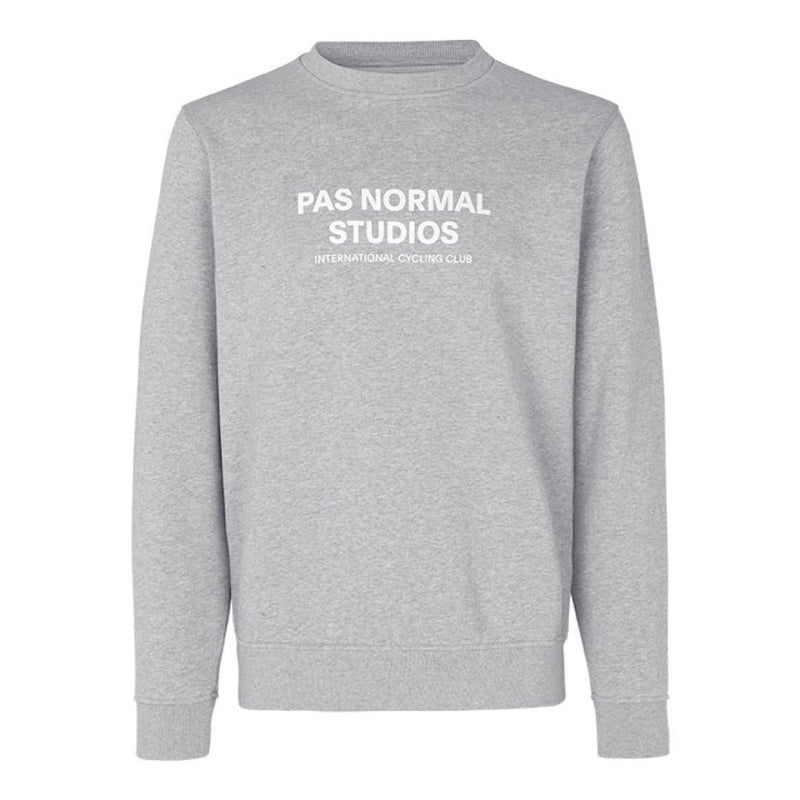 PAS NORMAL STUDIOS Logo Sweatshirt Grey Default Velodrom Barcelona