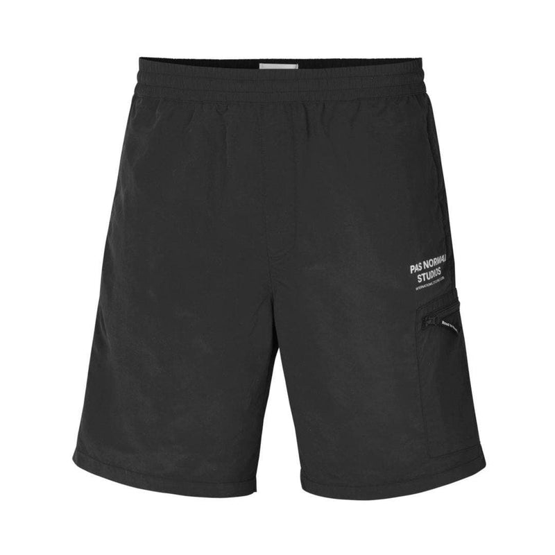 PAS NORMAL STUDIOS Off Race Shield Shorts - Black Default Velodrom Barcelona