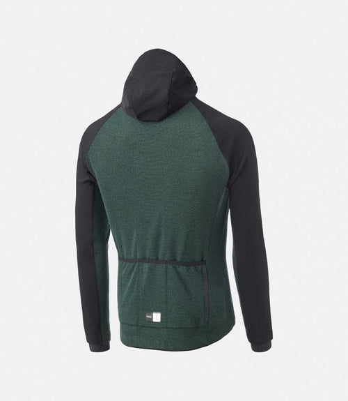 PEDALED Jary All-Road Hooded Jersey - Forest Green Default Pedaled