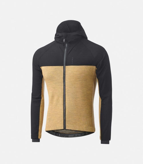 PEDALED Jary All-Road Hooded Jersey - Mustard Default Pedaled