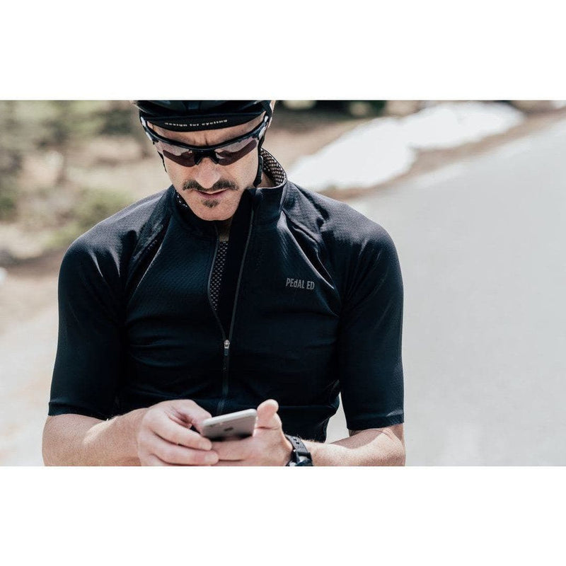 PEDALED SHAWA Waterproof Jersey - Black Default Velodrom Barcelona