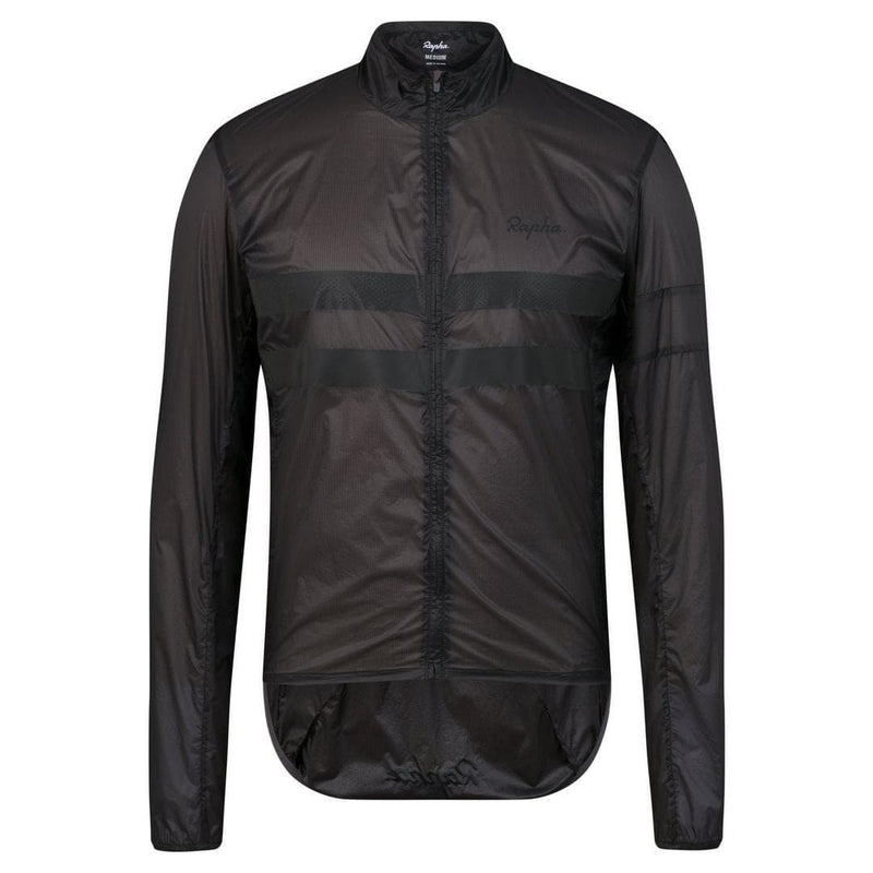 RAPHA Brevet Flyweight Wind Jacket Carbon Grey Default Velodrom Barcelona