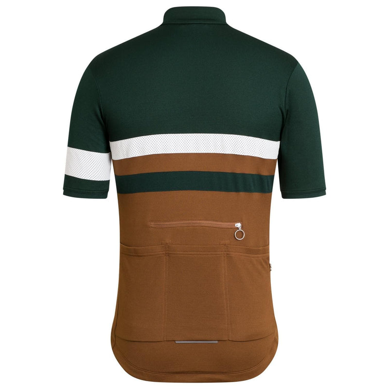 RAPHA Brevet Jersey - Dark Green SCA Default Rapha