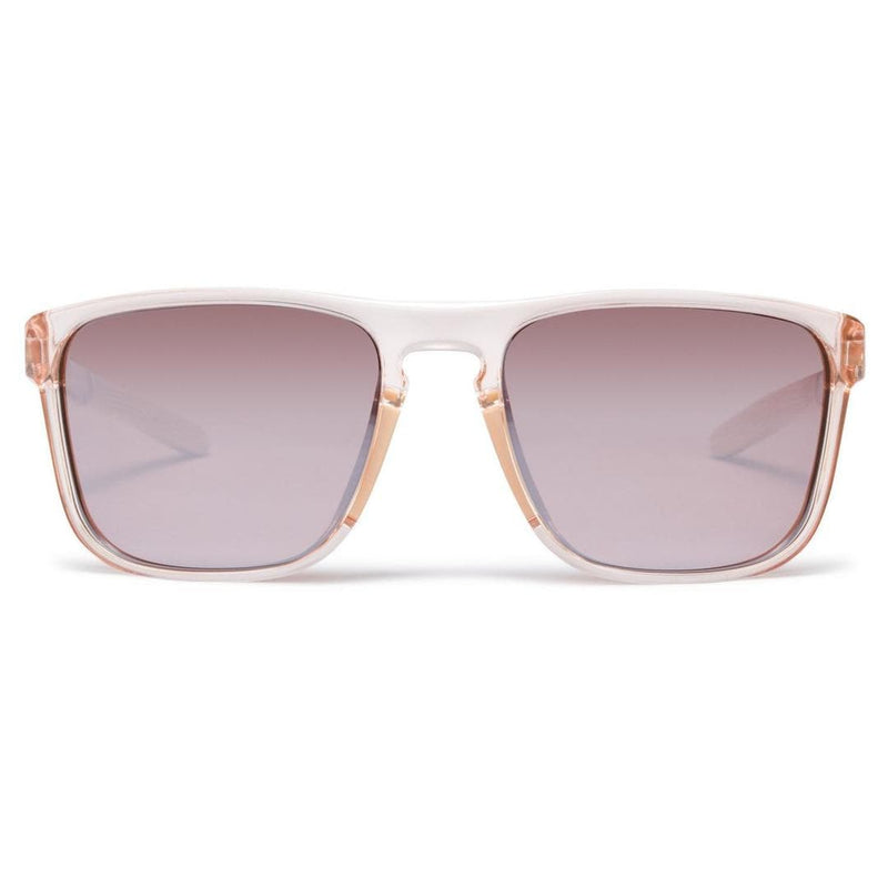 RAPHA CLASSIC GLASSES - Pink Transparent/Black Mirror Lens PTB Default Velodrom Barcelona