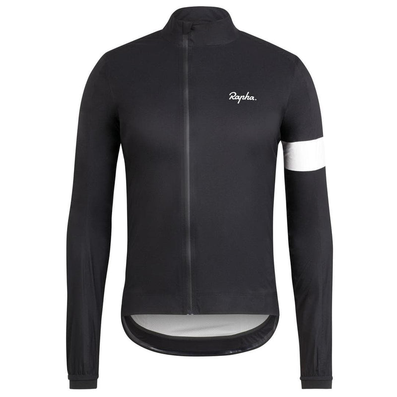 Rapha Core Rain Jacket Black Default Velodrom Barcelona