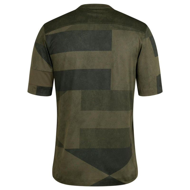 RAPHA Explore Technical T-shirt - Print Dark Green Default Velodrom Barcelona
