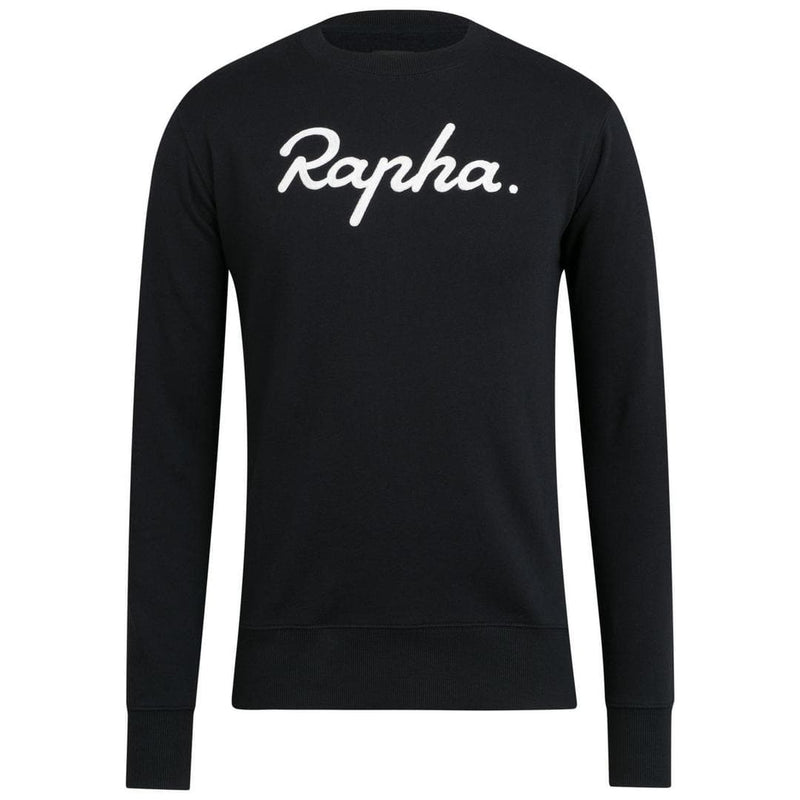 RAPHA Logo sweatshirt - Black White Default Velodrom Barcelona