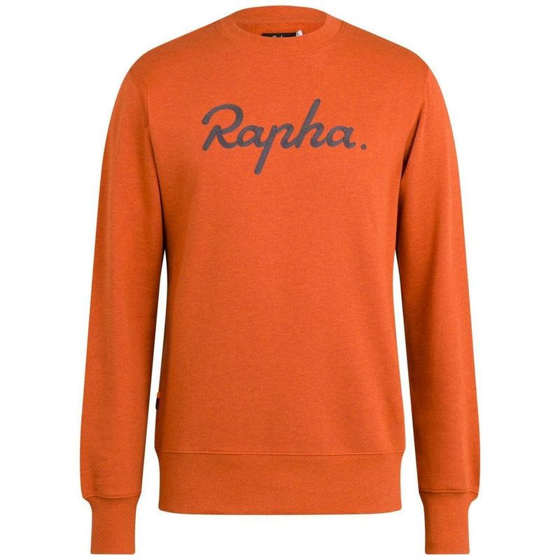 RAPHA Logo sweatshirt - Orange Marl Default Velodrom Barcelona