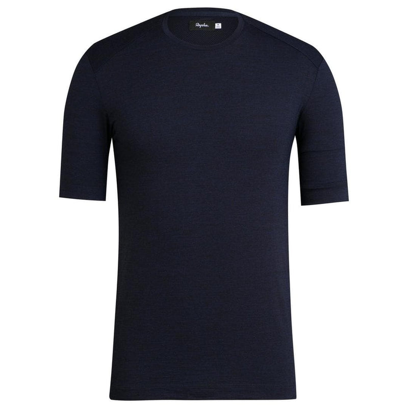 RAPHA MEN MERINO T-SHIRT - Dark Navy Default Velodrom Barcelona