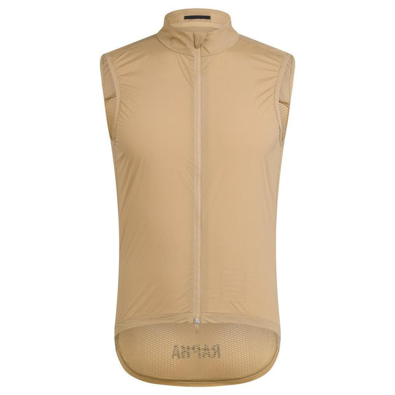 Rapha Pro Team Leigtweight Gilet Beige Default Rapha