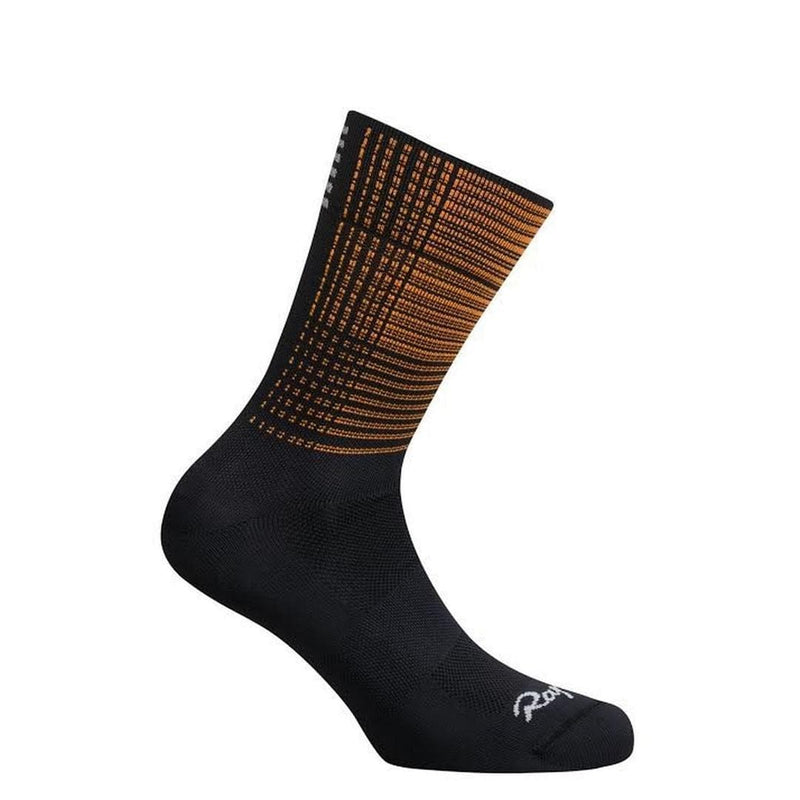 RAPHA Pro Team Socks Regular - Orange Flight Print Default Velodrom Barcelona