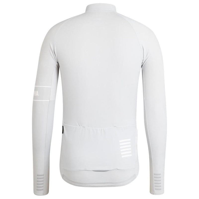 Rapha Pro Team Thermal Jersey Grey Default Velodrom Barcelona