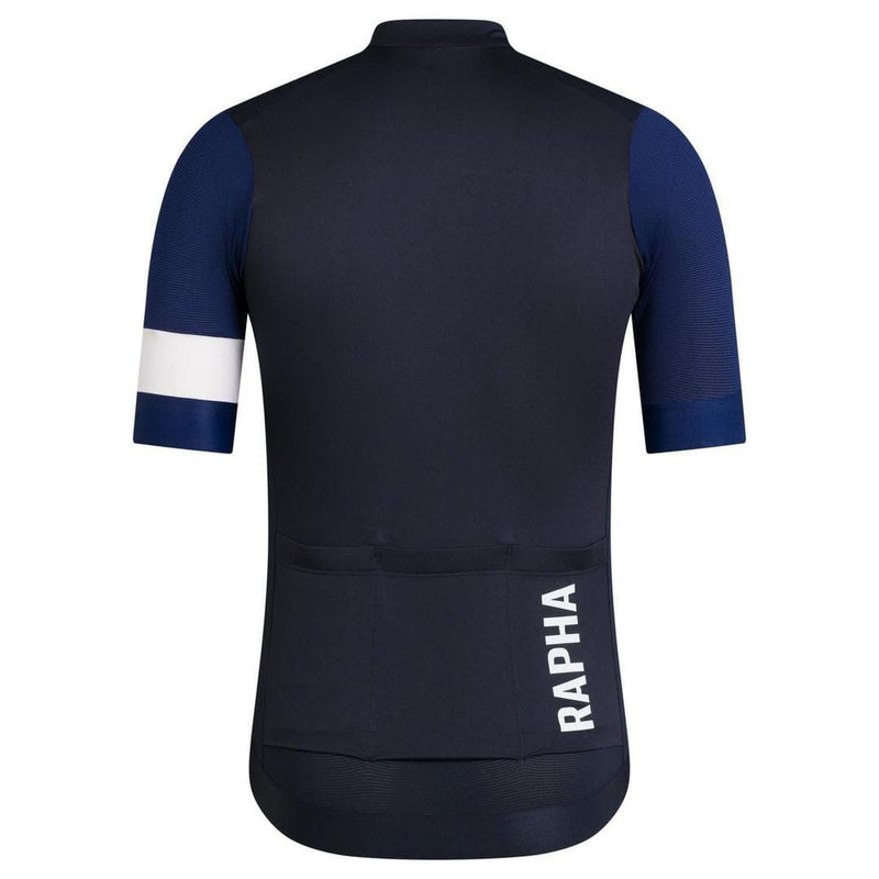 RAPHA Pro Team Training Jersey - SWW Dark-Navy/Navy/White Default Velodrom Barcelona