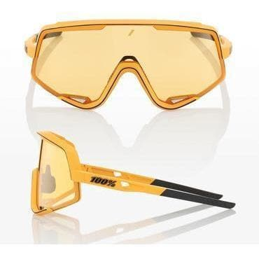 RIDE 100% Eyewear Glendale Soft Tact Mustard Soft Yellow Lens Default 100%