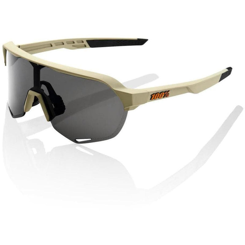 RIDE 100% Eyewear S2 - Soft Tact Quicksand - Smoke Lens Default 100%