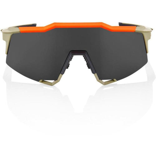 RIDE 100% Eyewear Speedcraft Soft Tact Quicksand Smoke Lens Default 100%