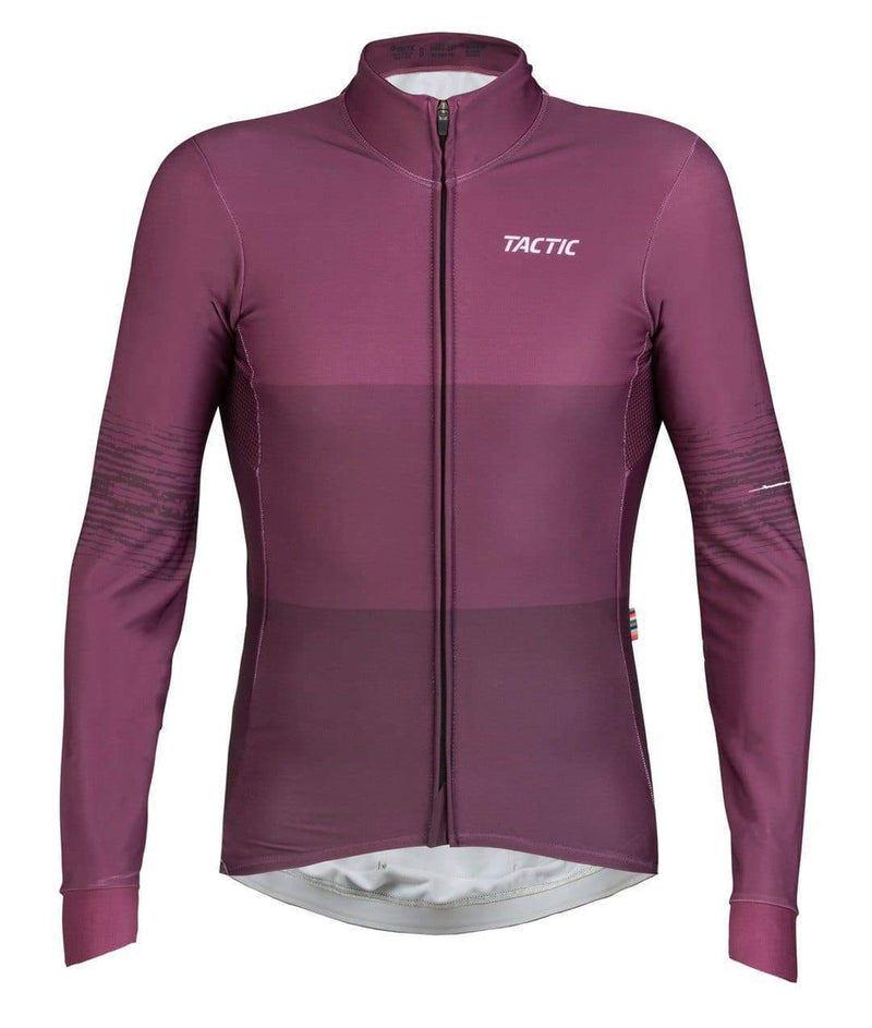 TACTIC LONGSLEEVE JERSEY HARD DAY - BERRY Default Velodrom Barcelona