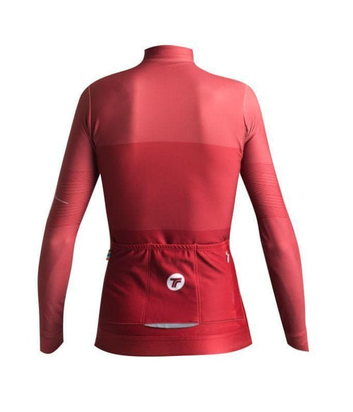 TACTIC Woman Long Sleeve Hard Day Jersey - Clay Default Velodrom Barcelona