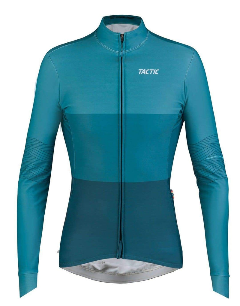 TACTIC Woman Long Sleeve Hard Day Jersey - Lake Default Velodrom Barcelona
