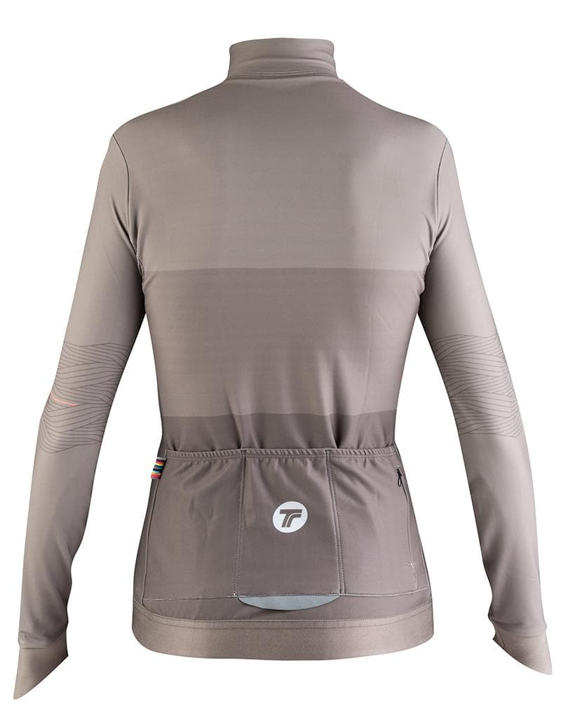 TACTIC Woman Longsleeve Jersey Hard Day - Rock Default TACTIC