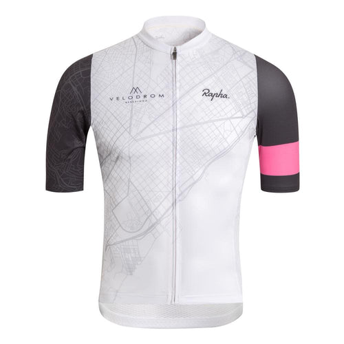 Velodrom by RAPHA Midweight Race Jersey - Light Grey Default Velodrom Barcelona