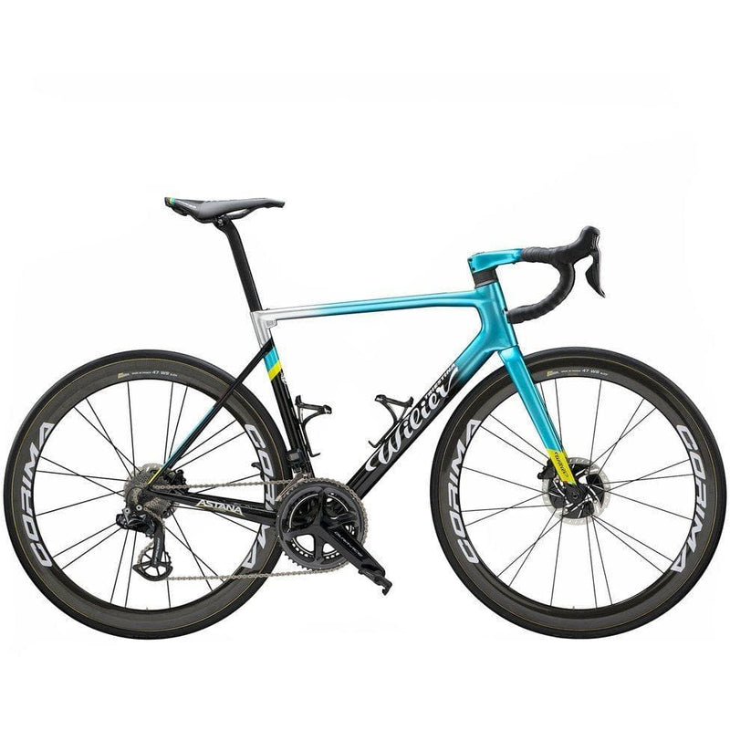 Wilier 0 SLR Force Axs Disc + NDR38KC Carbon wheels - Astana Pro Team Default Velodrom Barcelona