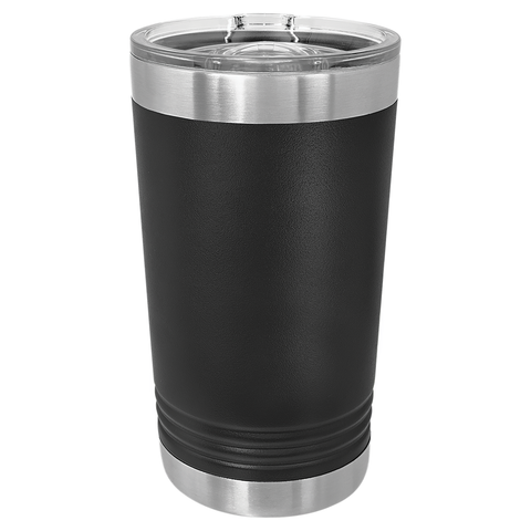 16 oz. Vacuum Insulated Pint - Black Diamond Laser Design
