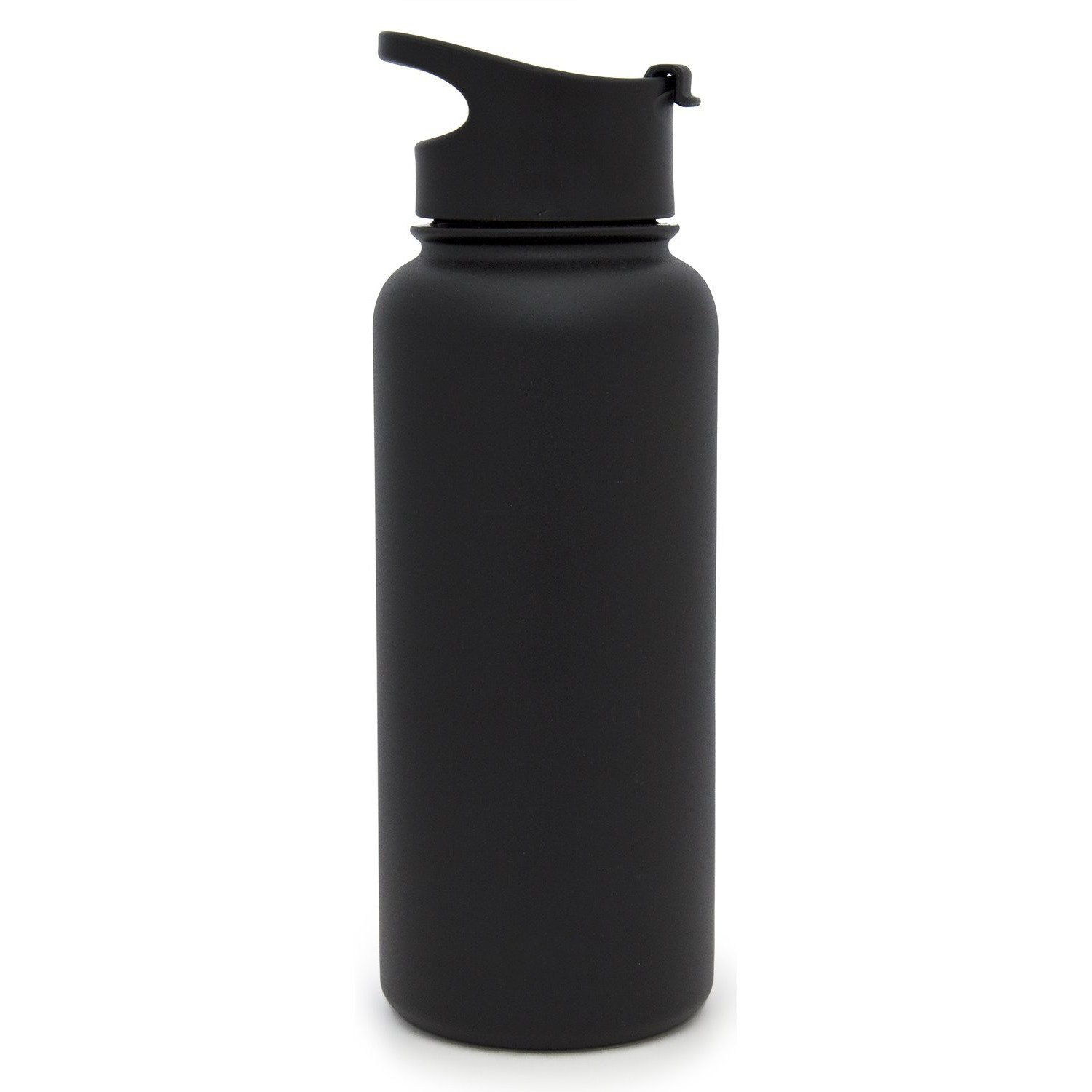 Simple Modern Summit Water Bottle with Flip Lid (32oz) - Black Diamond Laser Design