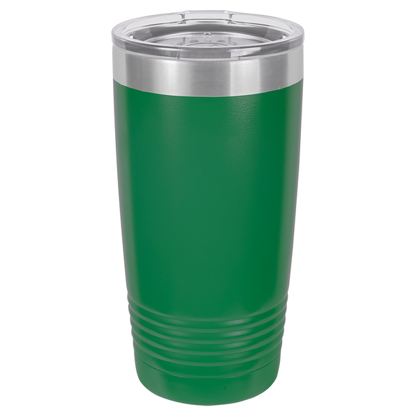 20 oz. Vacuum Insulated Tumbler - Black Diamond Laser Design