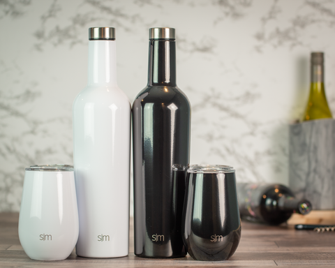 Simple Modern Spirit Wine Bundle - Black Diamond Laser Design, LLC