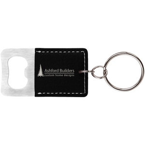 Bottle Opener Keychain - Black Diamond Laser Design